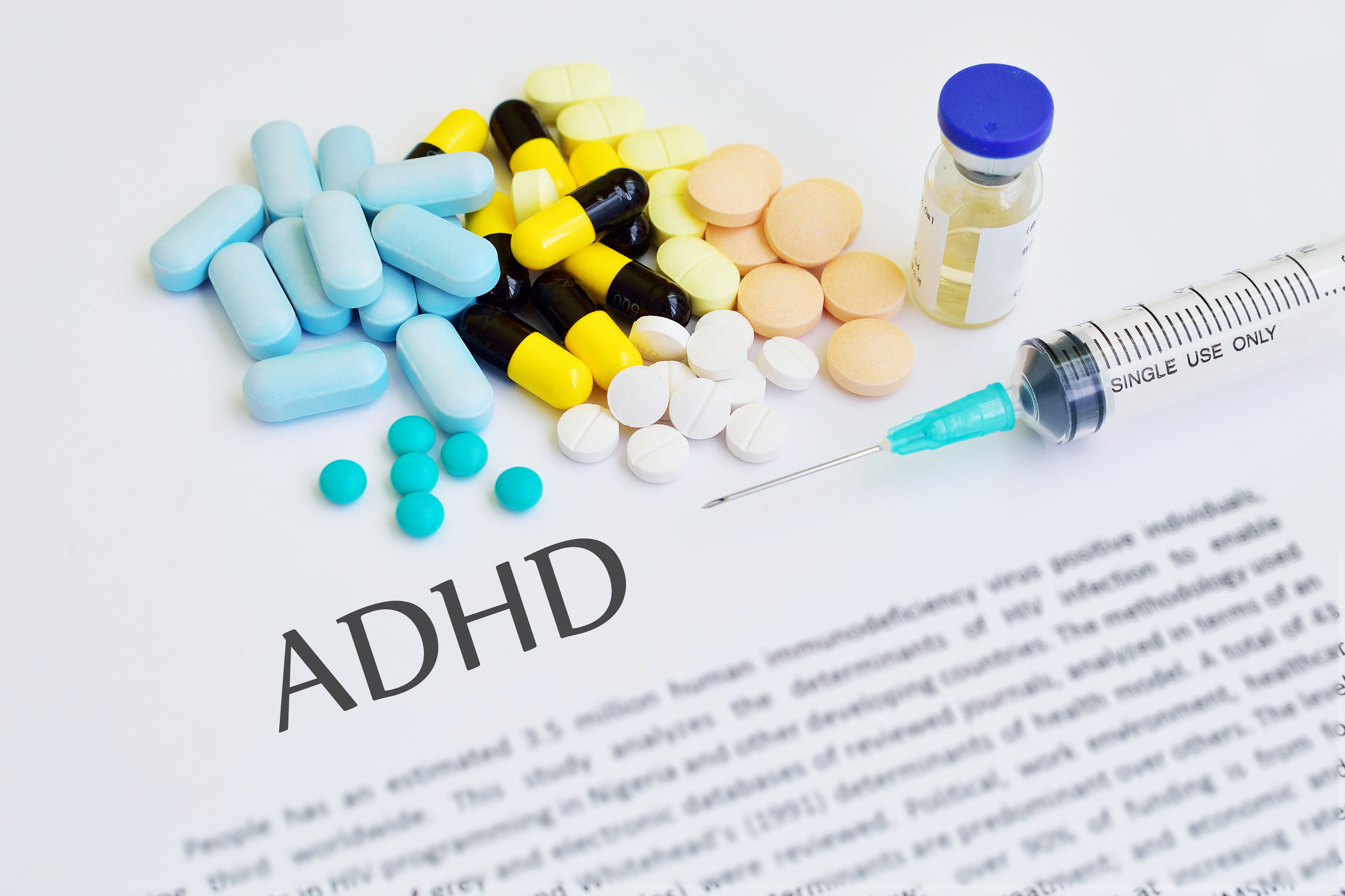 ADHD: Researchers suggest methylphenidate as first option for short-term treatment in children